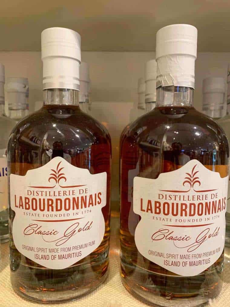 chateau du labourdonnais rum bottles