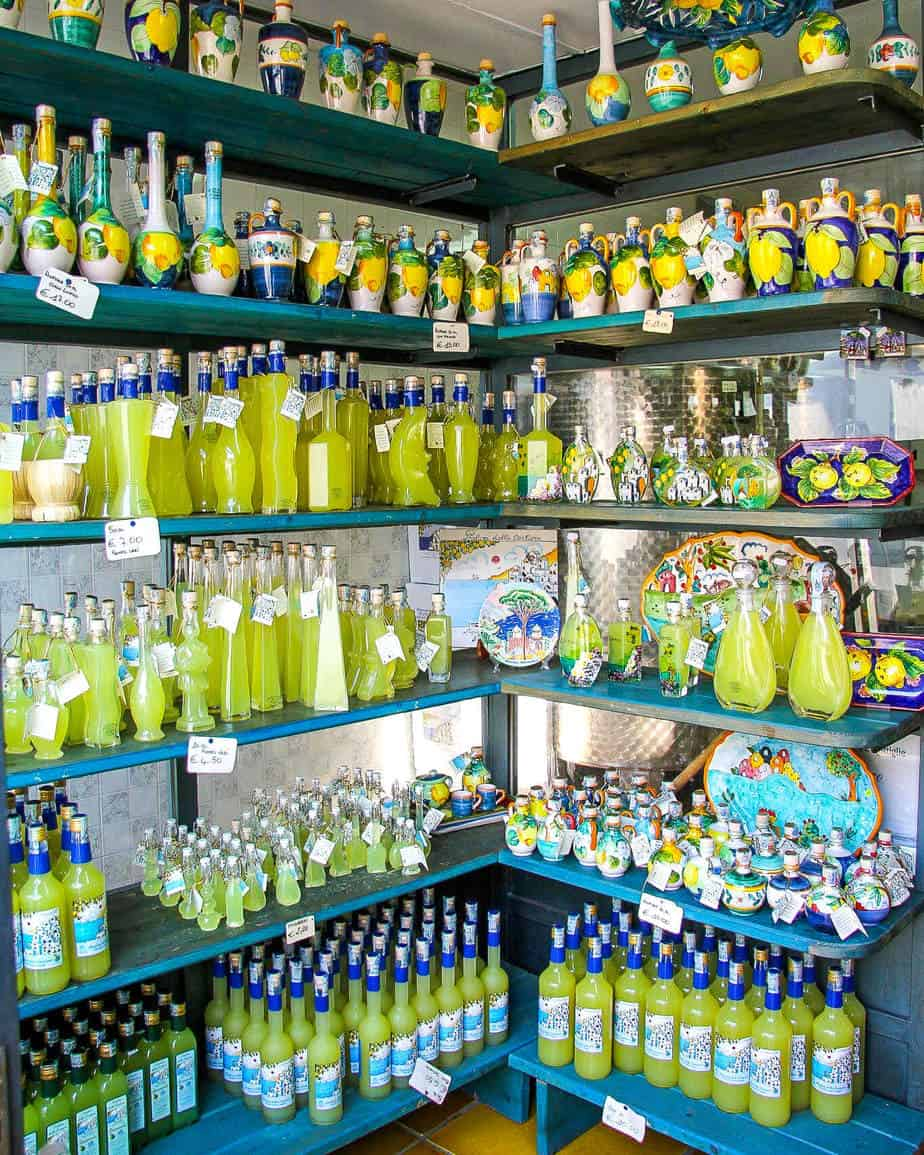 limoncello amalfi italy summer cocktails