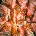 Wagyu beef carpaccio dry age boutique