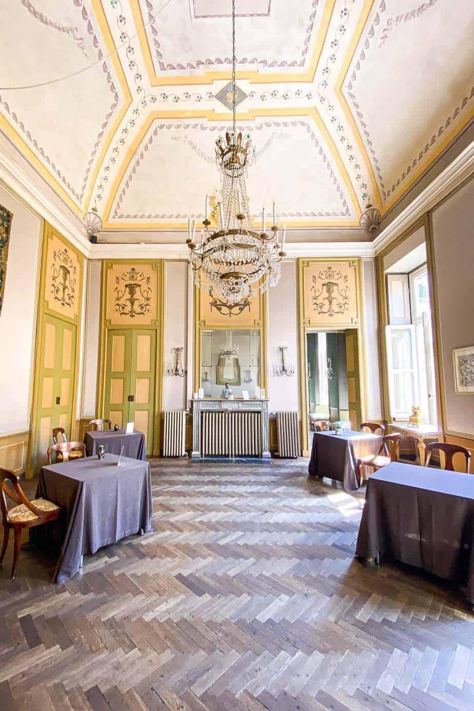 Accademia Ristorante dining room