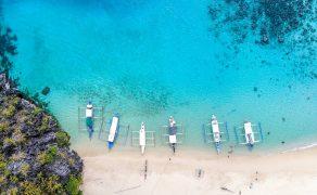 Palawan Philippines Beach Drone Photography DJI Mavic Air